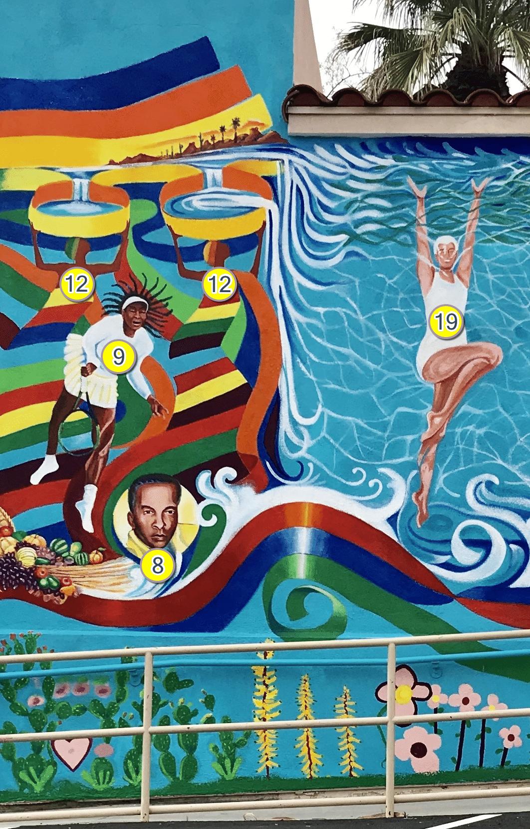 The Bernard Hoyes Mural
